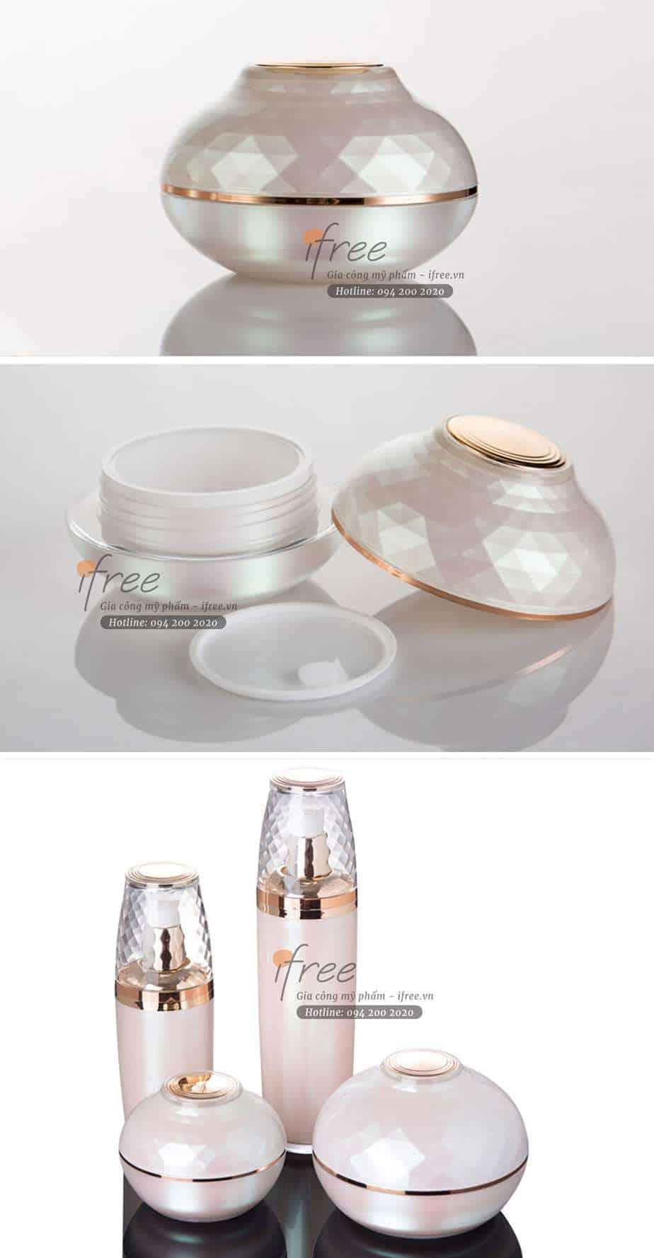 hũ nhựa acrylic cao cấp giá rẻ