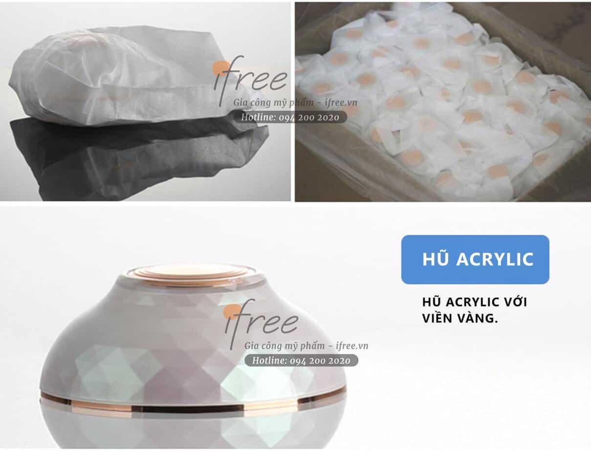 hũ nhựa acrylic cao cấp