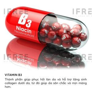 Vitamin B3 trong nguyên liệu