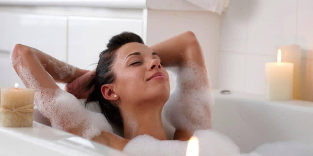Sữa tắm làm sạch cơ thể