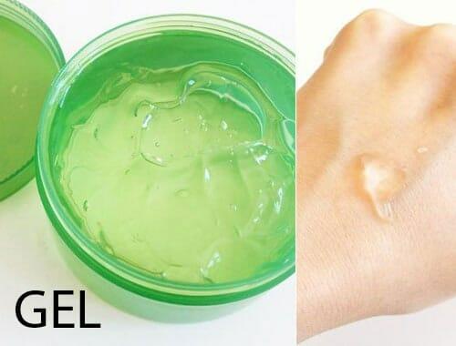 tạo nền gel trong mỹ phẩm