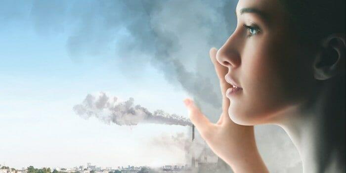 Ô nhiễm môi trường tác động mạnh mẽ đến làn da