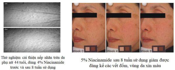 tác dụng niacinamide