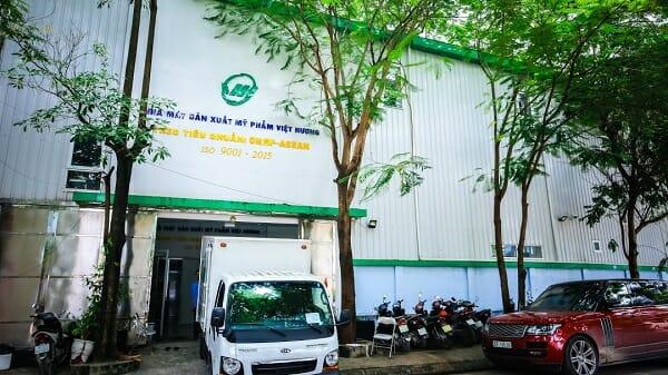 nhà máy sản xuất mỹ phẩm