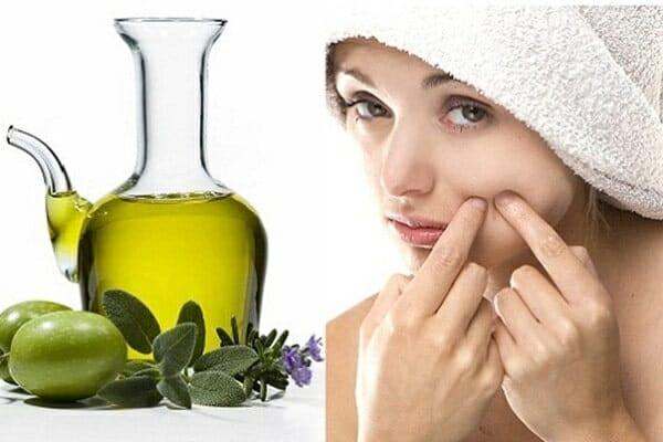 cách làm đẹp bằng dầu oliu