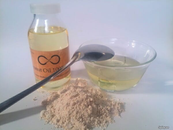 cách làm đẹp với bột yến mạch