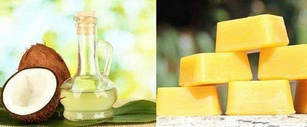 cách làm son dưỡng môi từ dầu dừa