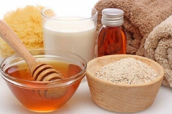 cách làm sữa tắm bằng mật ong