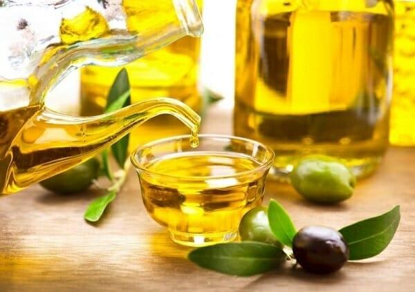 cách sử dụng dầu oliu