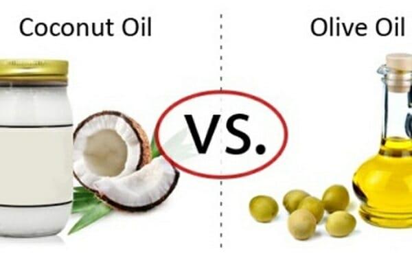 dầu oliu hay dầu dừa tốt hơn