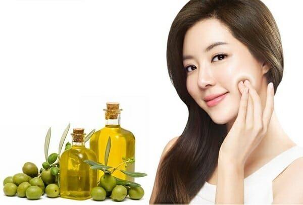dầu oliu nguyên chất dưỡng da