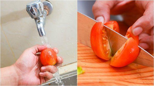 hướng dẫn làm son môi từ cà chua lên màu chuẩn