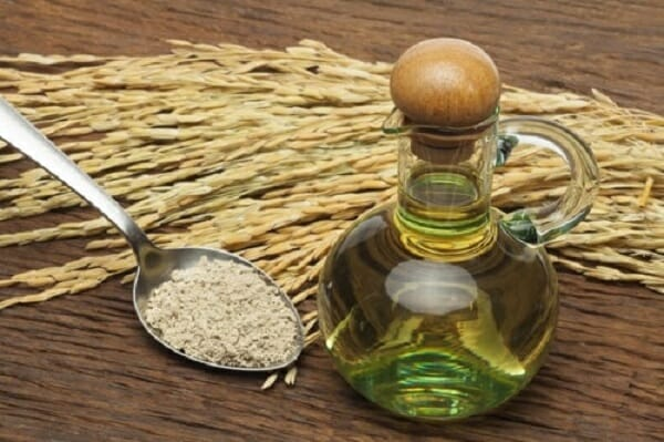 mặt nạ cám gạo dầu dừa