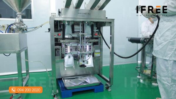 quy trình sản xuất mặt nạ tại nhà máy ifree beauty - 3