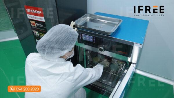 quy trình sản xuất mặt nạ tại nhà máy ifree beauty-5