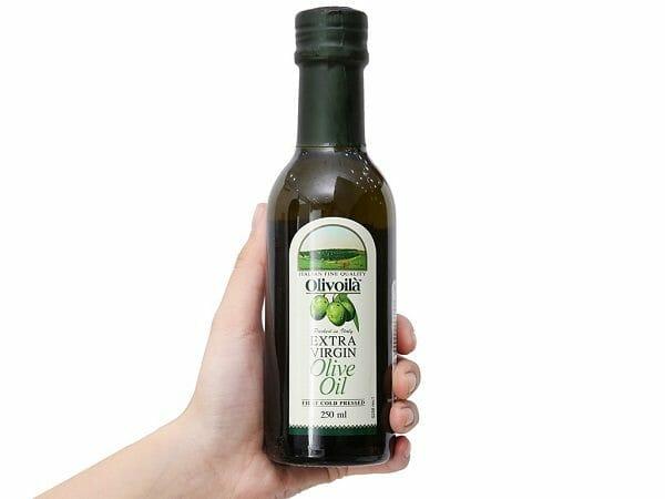 sử dụng dầu oliu đúng cách