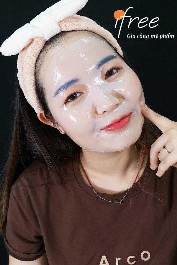 cellulose trên mặt nạ