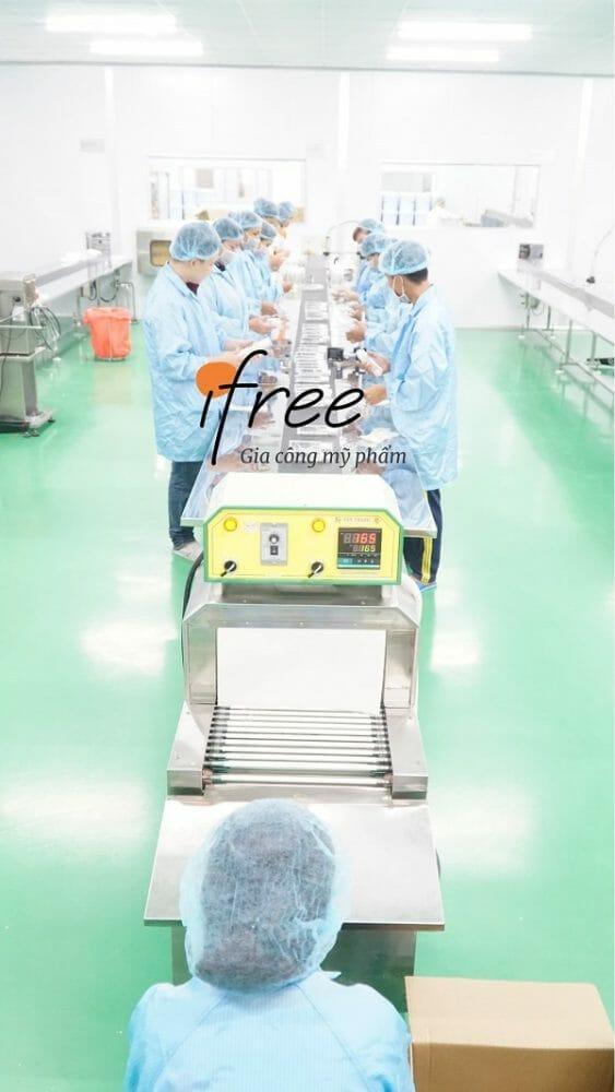 sản xuất kem mắt độc quyền