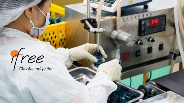 dây chuyền sản xuất mỹ phẩm hiện đại