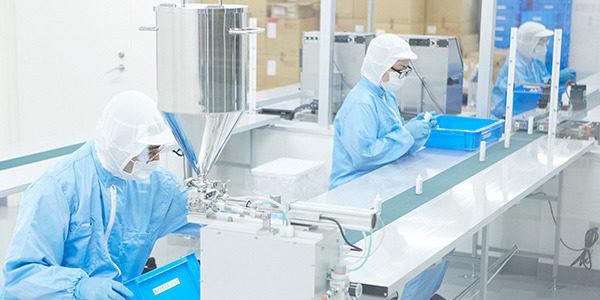 quy trình sản xuất mỹ phẩm