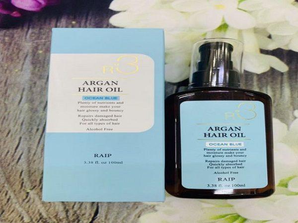 review tinh dầu dưỡng tóc raip r3 the argan oil