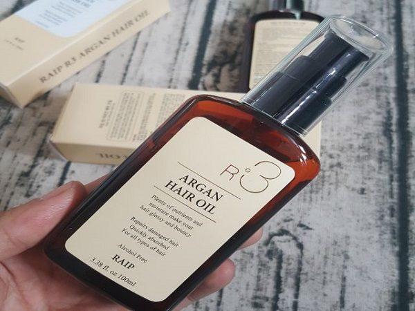 review dầu dưỡng tóc argan oil r3 có tốt không