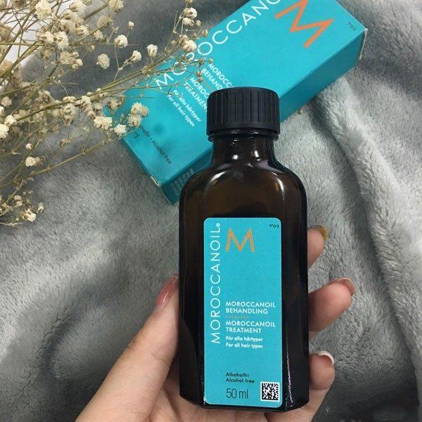 cách sử dụng tinh dầu dưỡng tóc moroccan argan oil