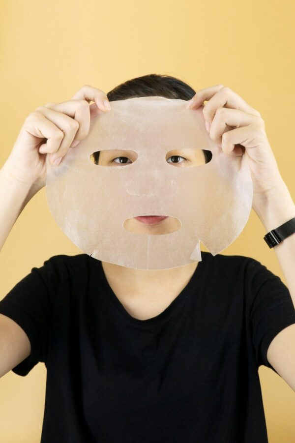cách đắp mặt nạ sợi tre hàn quốc