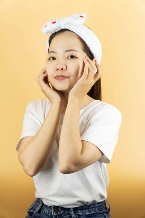 cảm nhận làn da căng mịn sau khi dùng mặt nạ seaweed detox