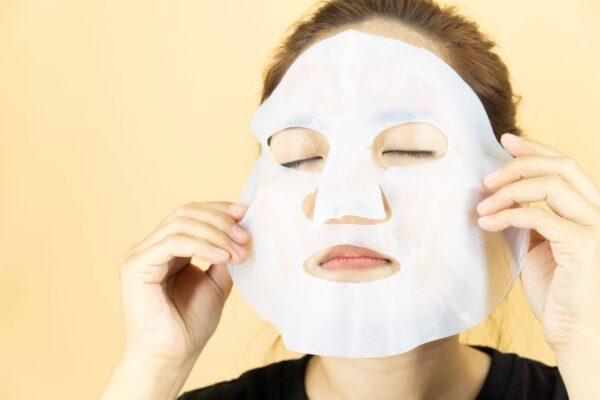 cách đắp mặt nạ dừa lên men bio cellulose