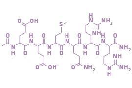 kí hiệu hóa học của chiết xuất acetyl hexapeptide 8