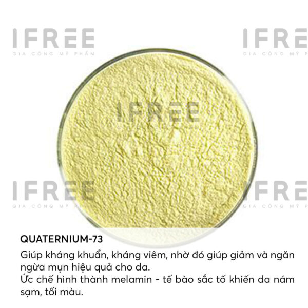 thành phần quaternium 73 trong acne defeat complex