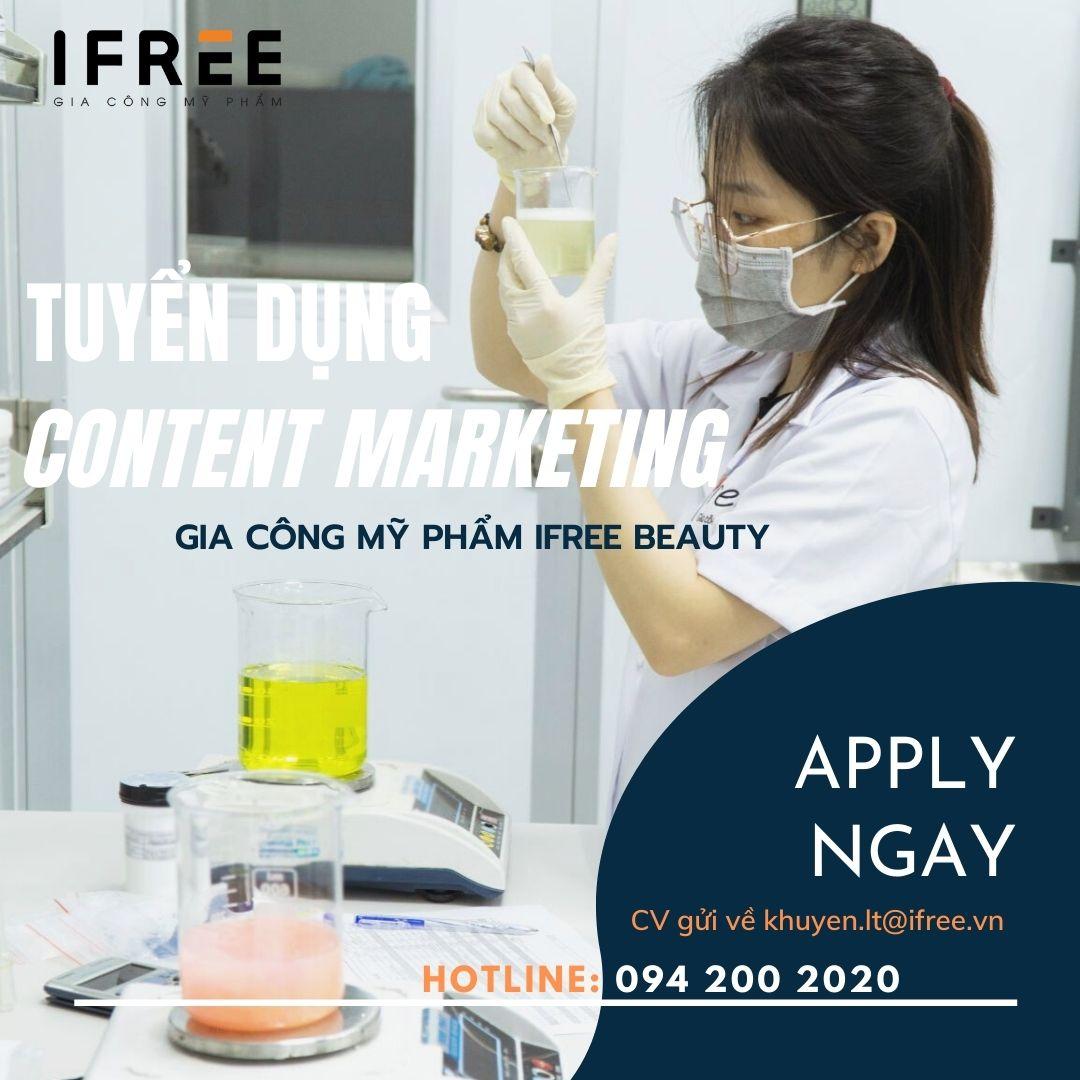 ifree beauty tuyển dụng nhân sự