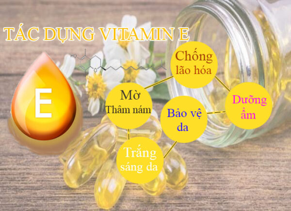 tác dụng vitamin E